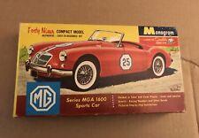 Monogram MGA 1600 Sports Car Forty Niner Model Kit # P405 49 1/32 Scale 1960