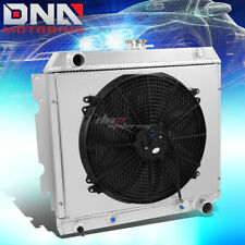 FOR 70s DODGE/PLYMOUTH V8 TRI-CORE/ROW PEFORMANCE ALUMINUM RADIATOR+COOLING FAN