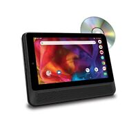 """RCA DRP2091 A 10"""" Tablet/Portable DVD Player Combo with Google Voice Assistant"""