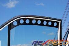 REXPEED CT9A Carbon Window Vent Visor for Mitsubishi EVO 7 8 9