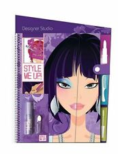 Drawing Pad Hair Make Up Hairstyles Design Illustrated Girls Sticker
