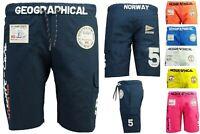 Geographical Norway Herren Schwimmshorts Badehose Badeshorts Bermuda Shorts QU-B