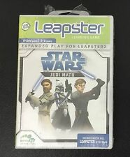 LeapFrog Leapster Learning Game Star Wars - Jedi Math (Mathematics) SEALED NEW