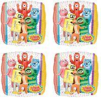 "4x NEW Yo Gabba Gabba 18"" Foil Birthday Decorations Balloon ~Party Favor Supply~"