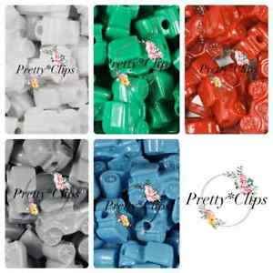 4 For 3 Car Pony Beads 6x 25mm Craft