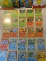 2021 McDonald's Pokemon 25th Anniversary Card Complete Master Set 50 pack fresh