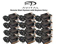 Lot of 12 Avital 4103LX Car Remote Start System Starter w/ 2 Transmitters ea