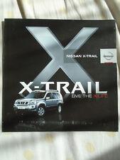Nissan X-Trail range brochure Nov 2009 South African market