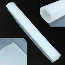"""New 20""""x20"""" 1mm Thicknes Silicone Rubber Sheet Clear High Temperature Resistance"""