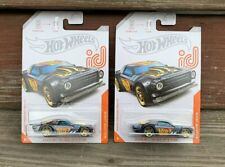 HOT WHEELS ID 2020 A CASE CHASE CAR NIGHT SHIFTER #1/8 SPECTRA FLAME LOT OF 2