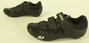 GIRO Women's Techne Breathable Hook & Loop Cycling Shoes JQ2 Black Size US:8.5