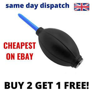 Dust Blower Cleaner Rubber Air Cleaning for Pump SLR/Camera/binocular Lens UK