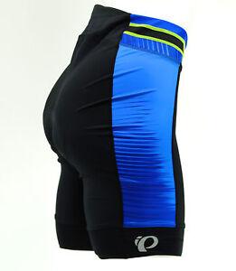 Pearl Izumi 2017 Women's Elite Pursuit Cycling Shorts, Dazzling Blue Rush, XS