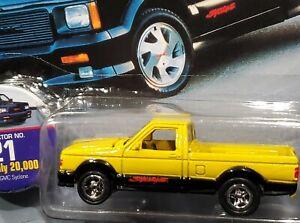 Johnny Lightning 91 1991 GMC Syclone Pickup Truck Truckin' America Detailed Repl