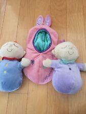 Sweet Pea Girl Boy & Pod Nesting Plush Stuffed Doll Toy Manhattan