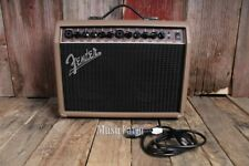 Fender® Acoustasonic 40 Acoustic Guitar Amplifier 40 Watt 2 Channel Amp w Reverb