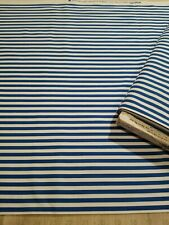 Clown Stripe by Michael Miller * CX-3584 Blue * NEW  COTTON * By The Yard *