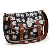 Borsa Donna Disney Bauletto tracolla Betty Boop Satchel 34x24x13 cm Shoulder Bag