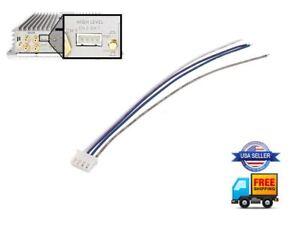 Speaker High Level Input Plug 4-Pin Harness KENWOOD Amplifier KAC-5207