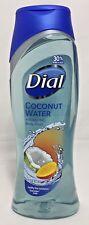 DIAL Coconut Water Refreshing MANGO Hydrating Body Wash w/ Moisturizers 21 oz