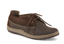 NEW MERRELL ASHLAND TIE LEATHER SHOES WOMENS 6.5 COFFEE BEAN BROWN FREE SHIP