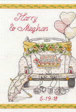 Dimensions Counted Cross Stitch Kit ~ Wedding Day #70-65185