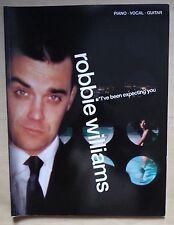 ) album partition ROBBIE WILLIAMS I've been expecting you - piano chant guitare