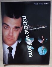 album partition ROBBIE WILLIAMS I've been expecting you - piano chant guitare