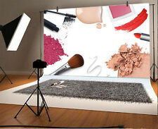 5x3' Cosmetics Scene Photography Background Vinyl Make Up Vlogger Photo Backdrop