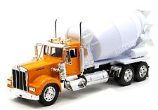 NEWRAY 1:32 DISPLAY KENWORTH W900 CEMENT MIXER DIECAST CAR SS-10881