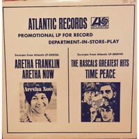 Aretha Franklin / The Rascals - Promotional LP For Record (1968 - US - Original)