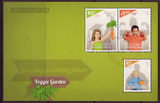 "NEW ZEALAND 2014 HEALTH STAMPS ""HEALTHY FUTURE""  FINE USED MINIATURE SHEET"