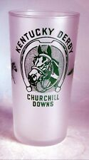 VINTAGE KENTUCKY DERBY CHURCHILL DOWNS GLASS  MINT JULEP OFFICIAL GLASS 1