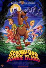 SCOOBY-DOO ON ZOMBIE ISLAND Movie POSTER 27x40 Scott Innes Billy West Mary Kay