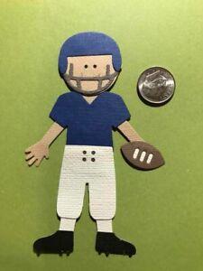 1 Football Player PAPER Die Cuts  / Scrapbook & Card Making
