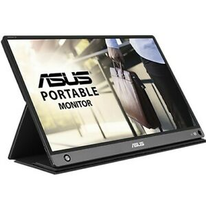 "NEW ASUS ZenScreen GO MB16AHP Portable USB Type-C Monitor 15.6"" Full HD Battery"