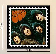Retro Pop Art Beatles Rubber Soul 8 pulgadas imagen Azulejo Idea de Regalo Gratis Reino Unido P&p