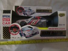 New Vintage 1992 Road Nascar Champs Mark Martin #6 Valvoline Ford 1:43 Scale