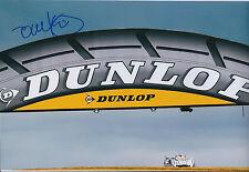 Tom KRISTENSEN SIGNED Le Mans Genuine AUTOGRAPH 12x8 Photo AFTAL COA