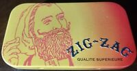 Zig-Zag Rolling Papers Mini Collectible Tin Metal Box Container Stash