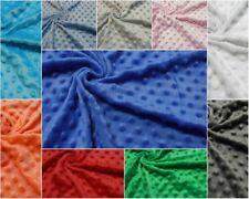 Tessuto minky goffrato pile micropile prezzo di vendita riferito a cm. 50 x 150