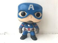 FUNKO POP VINYL #125 CAPTAIN AMERICA CIVIL WAR MARVEL SERIES BOBBLE-HEAD FIGURE