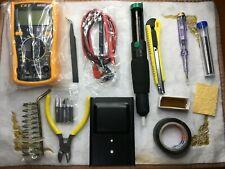 60W Adjustable Electric Temperature Gun Welding Soldering Iron Tool Kit 110V