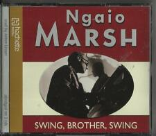 Swing Brother,Swing  by Ngaio Marsh Audio Cd  Read by Anton Lesser  DCI Alleyn