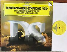 Shostakovich - Symphonie No.10 - Karajan BP - DG - 2532 030 Lp NM/EX
