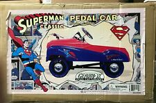 SUPERMAN PEDAL CAR Rare Limited Edition Gearbox 2004 MIB Only 1600 Produced