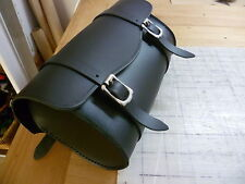 Motorcycle front forks leather tool bag AND roll handmade in Australian SAVE.