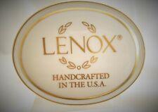 Lenox China Usa Retail Logo Display Dealer Sign