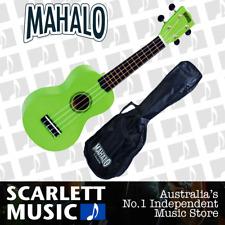 MAHALO Green Soprano Uke Ukulele MR1-GN w/Carry Bag & Aquila Strings