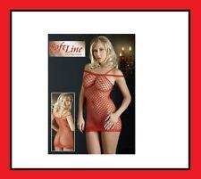 Bodystocking donna a rete lingerie calza corpo tuta intimo catsuit body hot S-L
